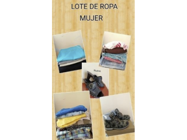 Lote Ropa mujer - 1